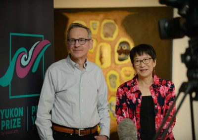 David Trick and Julie Jai. Photo credit: Mike Thomas, Yukon Arts Centre